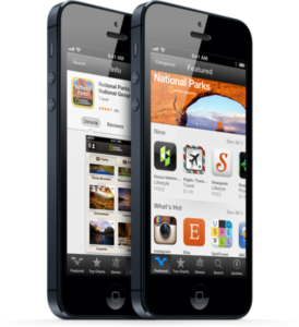 App Store on iPhone 5