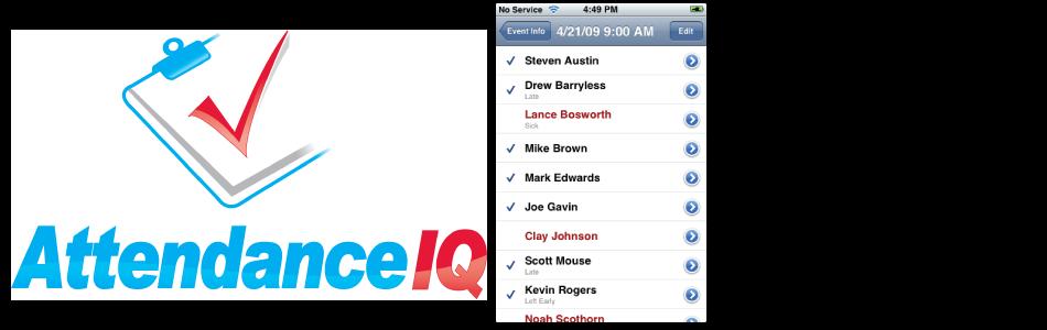 AttendanceIQ iOS App
