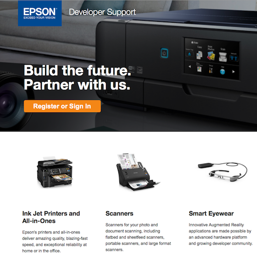 Epson Developer Support Site