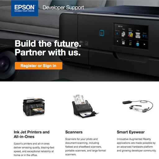 EPSON Developer Portal